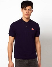 Lacoste Live Polo Shirt with Large Crocodile