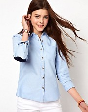 Vero Moda Shirt With Elbow Patch