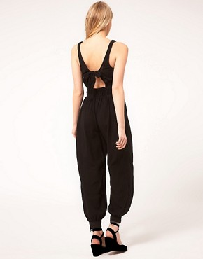 Image 2 ofASOS PETITE Exclusive Mex Tex Jumpsuit