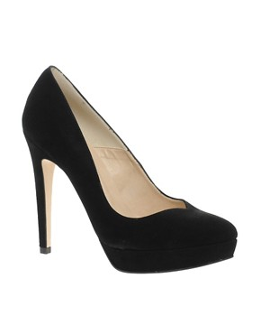 Image 1 ofDune Anise Sweetheart Platform Court Shoes