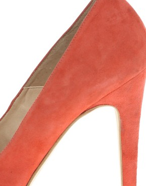 Image 3 ofDune Anise Sweetheart Platform Court Shoes