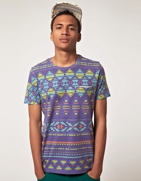 Image 1 ofASOS T-Shirt With Mexican Print