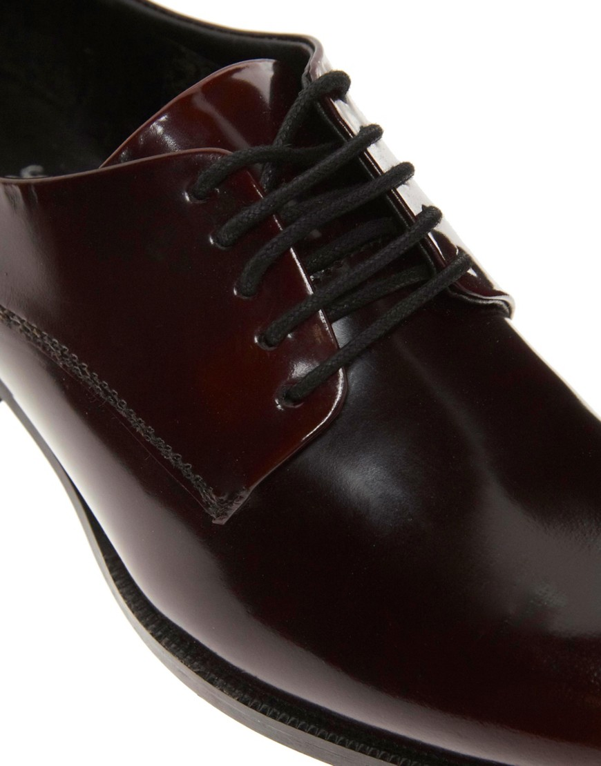 Image 3 of ASOS MOODY BLUES Leather Brogues