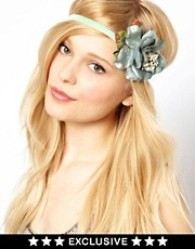 Her Curious Nature Exclusive To ASOS Rose Head Band