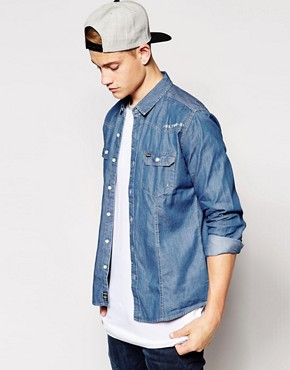 Firetrap Western Denim Shirt