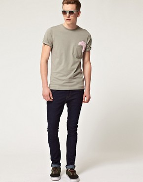 Bild 4 von Pretty Green by Liam Gallagher  T-Shirt mit Tasche mit Logo