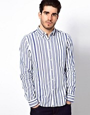 Gant Rugger Shirt with Multi Stripe