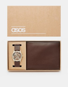 ASOS Watch and Wallet Gift Set