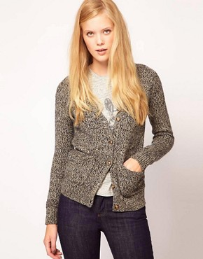 Image 1 ofNW3 Cardigan in Metallic Thread