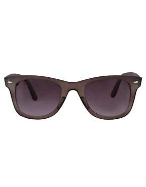 Image 2 of ASOS Matt Crystal Wayfarer