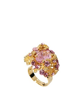 Image 1 ofTalullah Tu Crystal Baroque Cocktail Ring