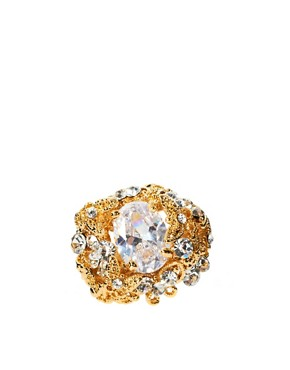 Image 2 ofTalullah Tu Crystal Baroque Cocktail Ring