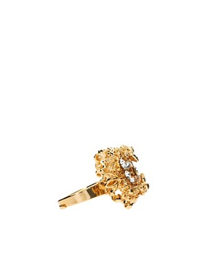 Image 4 ofTalullah Tu Crystal Baroque Cocktail Ring