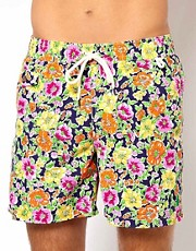 Polo Ralph Lauren Shorts with Floral Print