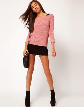 Image 4 ofRiver Island Speckled Sweat Top