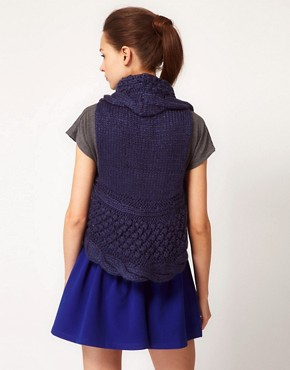 Image 2 ofGlamorous Knitted Cable Gilet