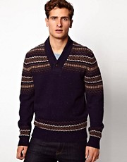 French Connection Fairisle Jumper