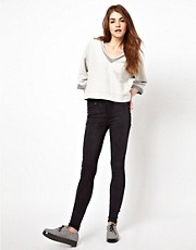 Jeggings con cintura alta Plenty de Dr Denim