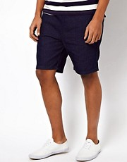 Bellfield Denim Jogger Shorts