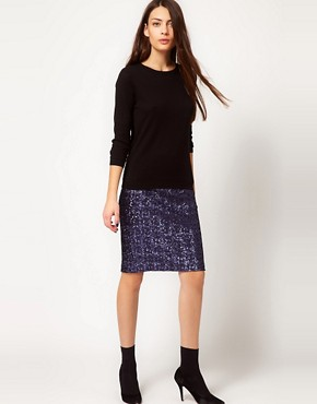 Image 1 of Whistles Sequin Skirt