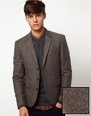 ASOS - Blazer in tweed slim fit