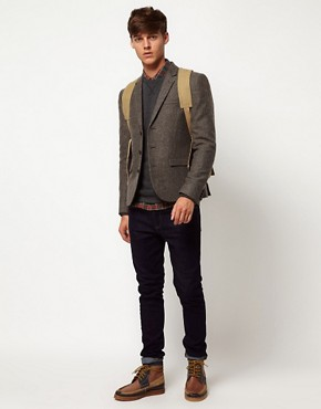 Image 4 ofASOS Slim Fit Tweed Blazer