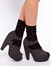 ASOS Pearl Ankle Socks