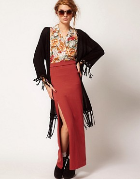Image 1 ofMinkpink Patience Maxi Tube Skirt