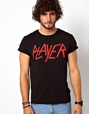 ASOS T-Shirt With Player Print