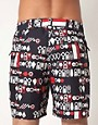Image 2 ofWESC Dusty Swim Shorts