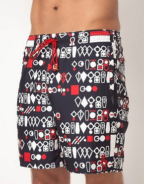 Image 1 ofWESC Dusty Swim Shorts