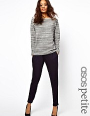 ASOS PETITE Peg Trouser In Jersey