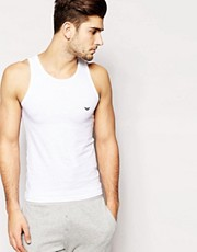 Emporio Armani Stretch Cotton Vest