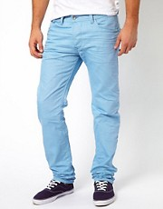 Diesel - Darron 8QU - Jeans slim sovratinti con vita normale