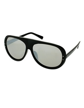 Image 1 ofCheap Monday Eno Moulded Aviator Sunglasses