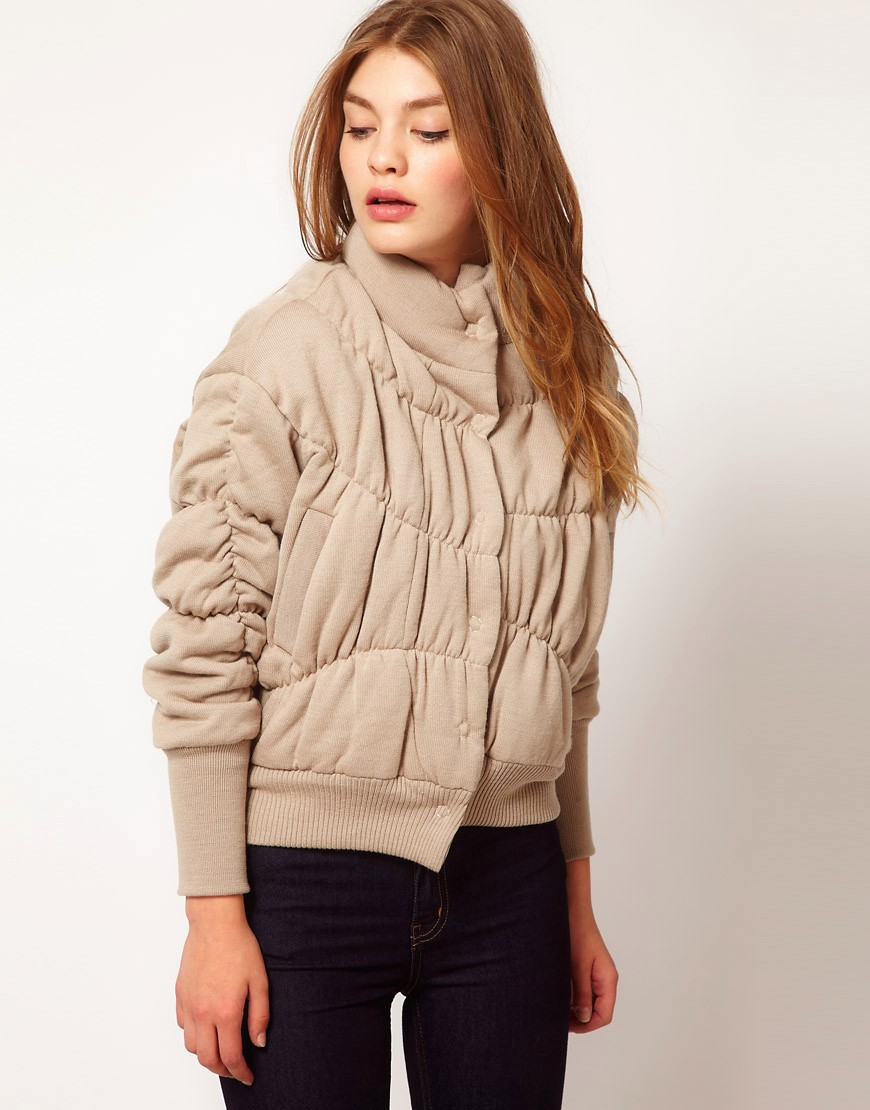 Image 1 of JNBY Knitted Padded Jacket
