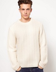 Wolsey Jumper With Rib Detail