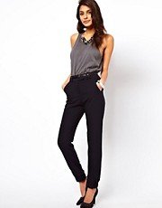 ASOS Trousers With Cuff Hem