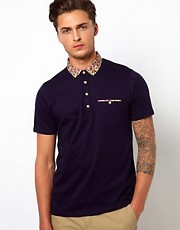 Ted Baker Floral Polo Shirt