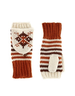 Image 1 ofASOS Fairisle Converter Gloves