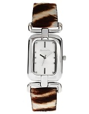 Accessorize Ladies Zebra Watch