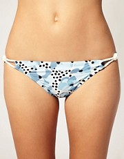 Juicy Couture Rope and Bianca Print Bikini Brief