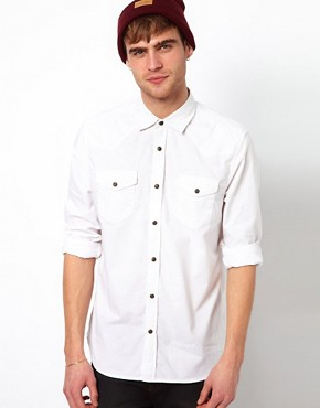 Image 1 ofRiver Island Eastwood Western Shirt
