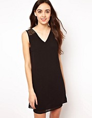 Vero Moda Embellished Shoulder Dress