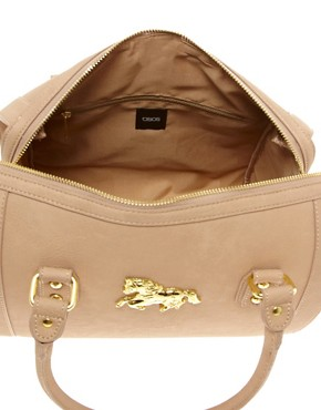 Image 2 ofASOS Tassel Bowler Bag With Horse Fitting
