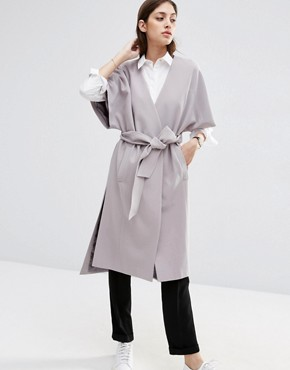 ASOS Duster Coat with Kimono Sleeve