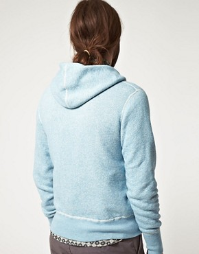 Image 2 ofWings And Horns Hooded Zip Through Sweatshirt