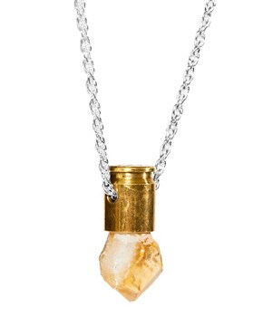 Image 4 ofLove Bullets Citine Crystal Bullet Necklace