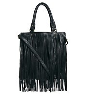Oasis Tassel Fringe Shoulder Bag
