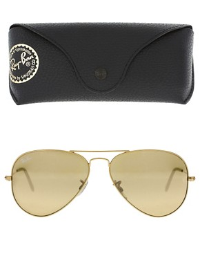 Image 2 of Ray-Ban Large Aviator Sunglasses